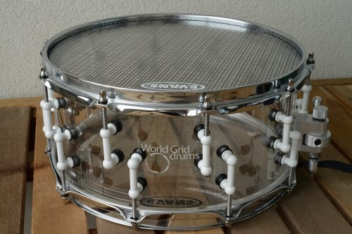 review world grid drums gravity snare authenticdrummer. Black Bedroom Furniture Sets. Home Design Ideas